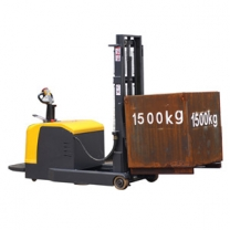 battery power operated stacker and power pallet stacker forklift