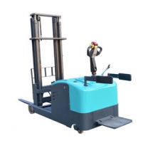 Balanced straddle electric lift pallet stacker