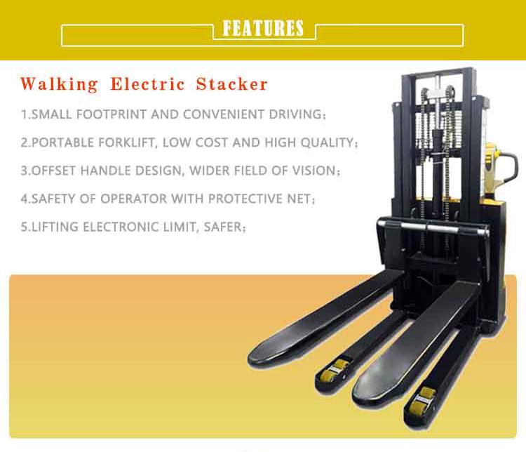 walkie pallet stacker 7