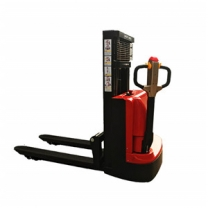 Battery operated walkie behind pallet stacker forklift for sale