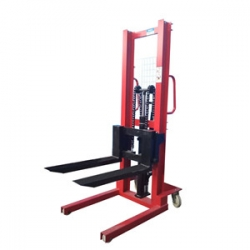 Manual stacker pallet truck hydraulic lift hand operated forklift