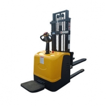 1 ton 1.6M Balance station driving type full electric pallet truck