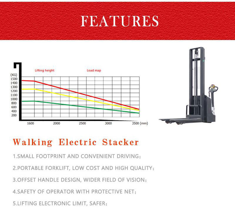 electric stacker truck 5