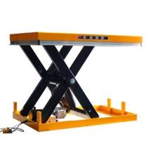 Fixed electric hydraulic scissor design stationary scissor liftworkbench
