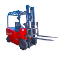 The four-wheel full electric 3 ton forklift price has a strong climbing ability