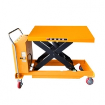 150kg mobile electricelectric hydraulic scissor lift table can be customized