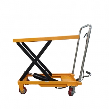small scissor lift mechanism, hydraulic pallet lift table