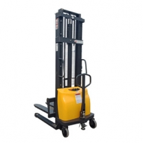 2 tons of 1.6M semi-electric walkie stacker forklift lifting
