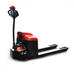 2 ton Walking electric heavy duty pallet jack charging walking forklift