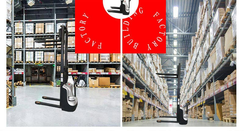 full electric stacker 4