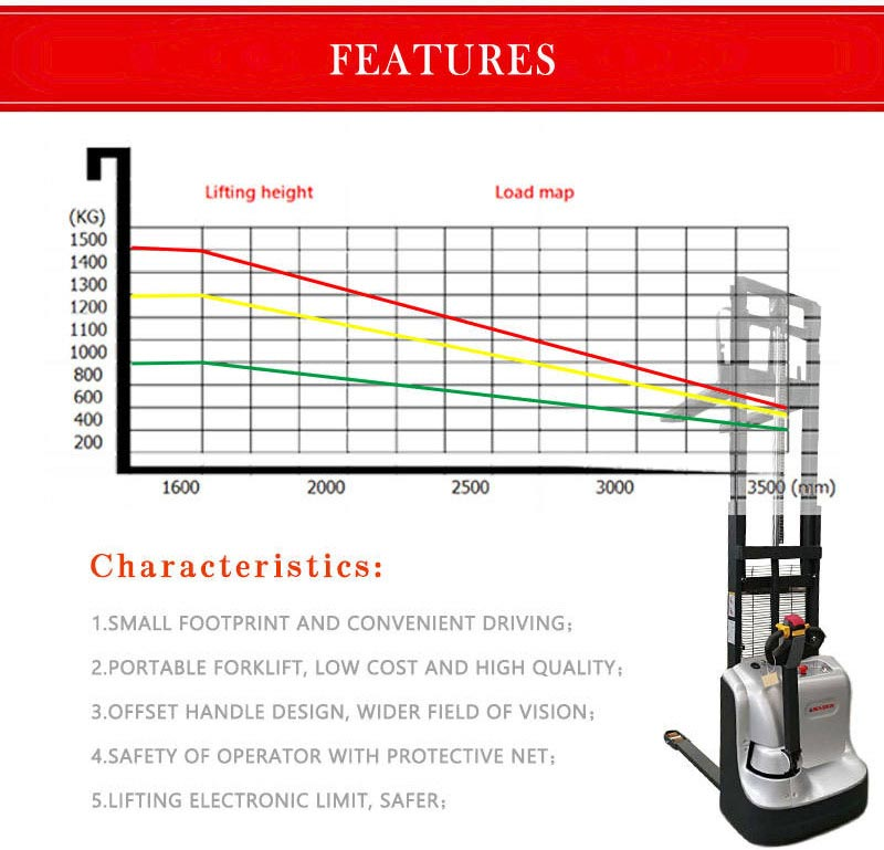 full electric stacker 5
