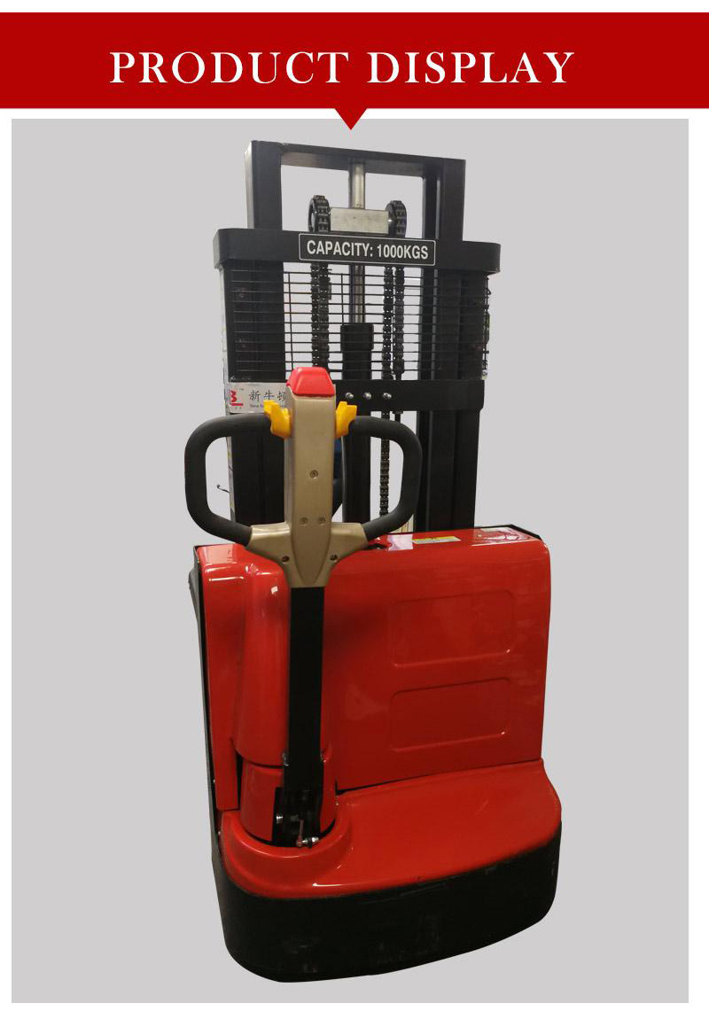 electric stacker truck 1