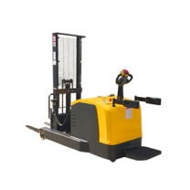 2 ton forward heavy electric lift stacker height station driving type lifting 3M