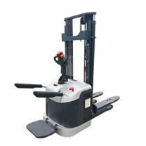 1.5 ton Station-mounted stacker forklift full electric stacker for limited space
