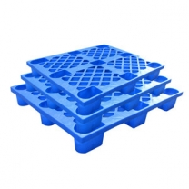 Drop-resistant plastic stackable pallets nine-foot flat forklift plate