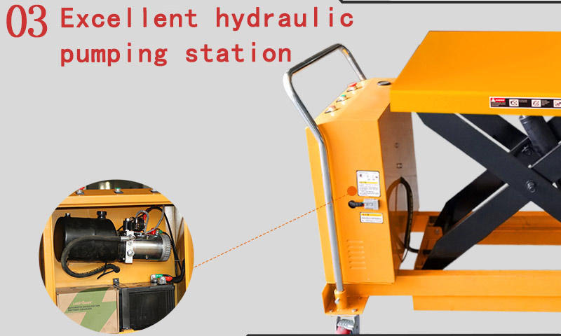 small hydraulic lift table 2