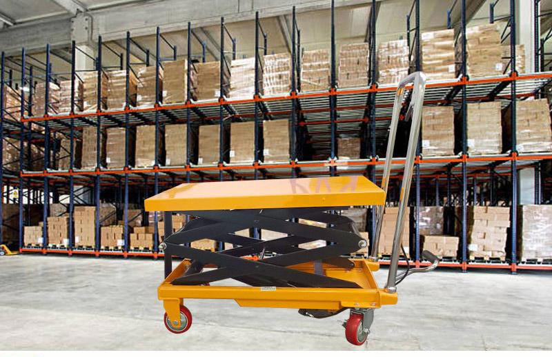 double scissor lift table 9