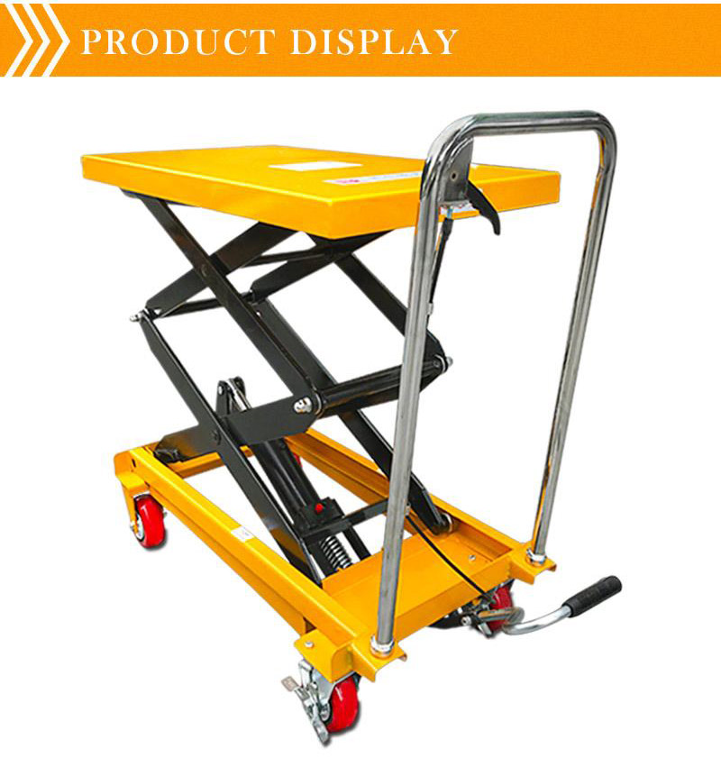 mobile scissor lift tables 4