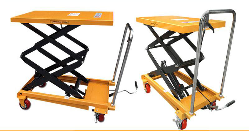 pallet lift table with rollers 4
