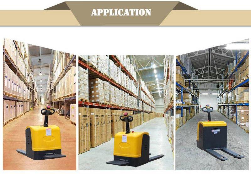 electric pallet lift truck 5
