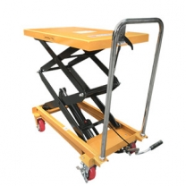 800kg mini scissor lift table mobile work platform warehouse handling tool