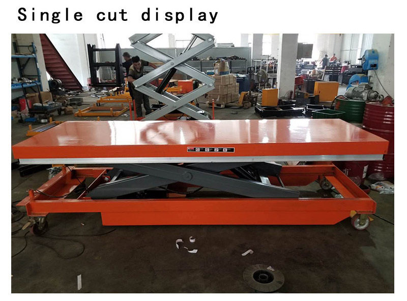 Battery Operated Scissor Lift Table 5