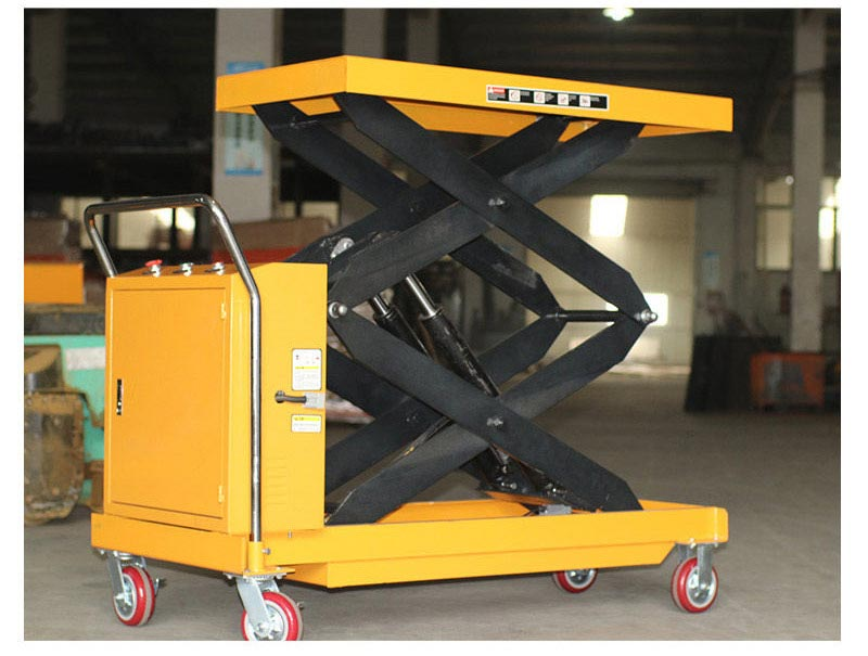 Battery Operated Scissor Lift Table 3