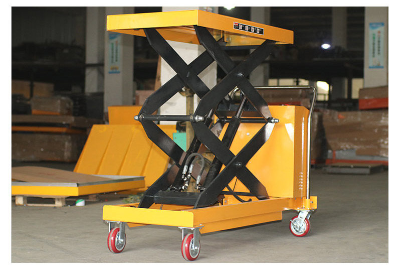 Battery Operated Scissor Lift Table 4