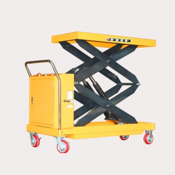 Battery Operated Scissor Lift Table (2)