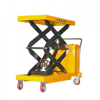 battery operated scissor lift table , pallet lift table with