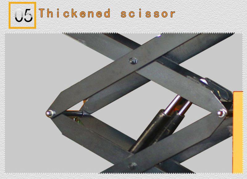 scissor lift work table 4