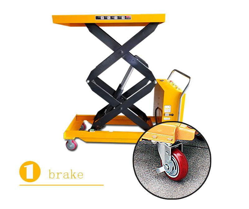 hydraulic scissor lift cart 2
