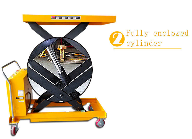 hydraulic scissor lift cart 3