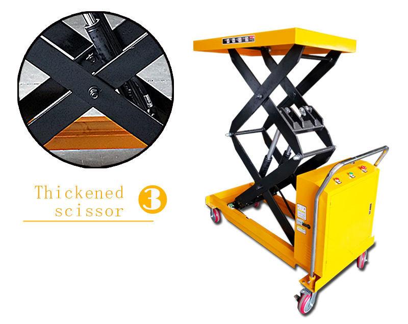 hydraulic scissor lift cart 4