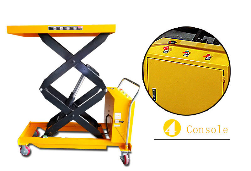hydraulic scissor lift cart 5