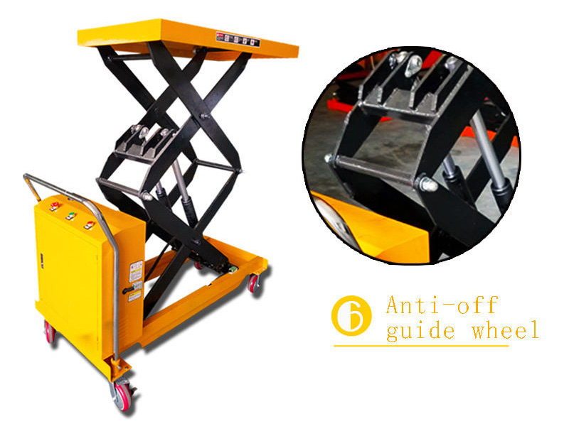 hydraulic scissor lift cart 7