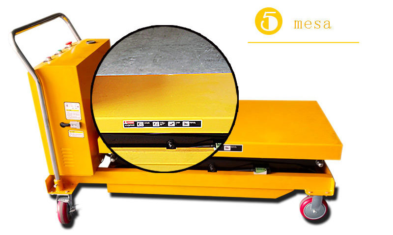 hydraulic scissor lift cart 6