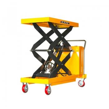 hydraulic scissor lift cart (2)