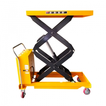 1 ton Mobile Hydraulic Scissor Lifts battery powered lift table