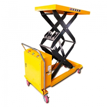hydraulic scissor lift cart (5)