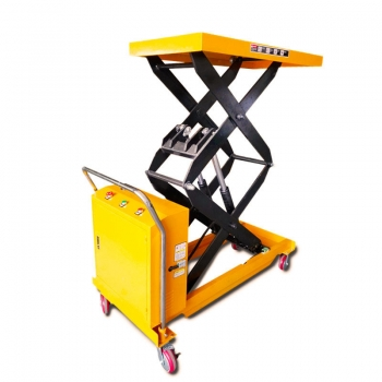 800kg Battery powered electric lifting tables hydraulic lift