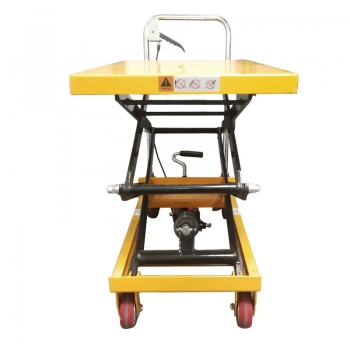 Direct manual hydraulic platform 350KG manual low profile lift table car