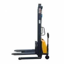 Supply semi-electric stacker load 1T increased by 3M low-cost electric forklift