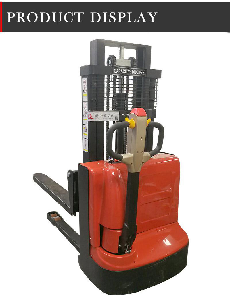 battery operated pallet stacker 4