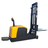 Balanced heavy electric stacker without fork leg 2 ton up 2.5M electric forklift