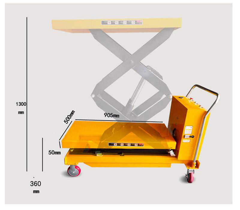 electric scissor lift sale 1