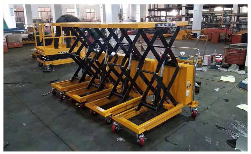 electric scissor lift table 1