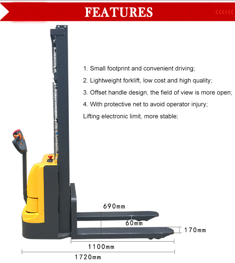 fully electric stacker 2