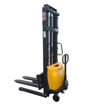 Electric stacker suppliers provides durable 120AH high-power warehouse stacker