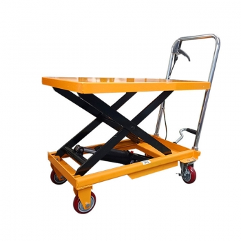 Portable 150KG hydraulic small hydraulic lift can customized according to height